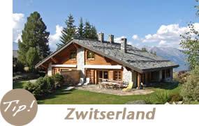 Vakantiehuizen en chalets in Zwitserland