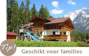 Vakantiehuizen voor families met kinderen