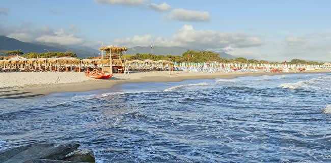 Stranden Toscane