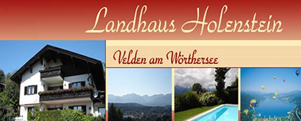 Landhaus Holenstein Velden am Wörtersee