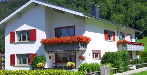 Gastenhuis Monika, appartementen in Bregenzerwald