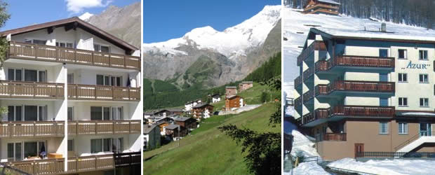 Appartementen Azur Saas-Fee