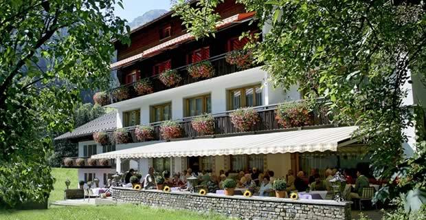 Hotel Pension Hubertusklause gaschurn Montafon