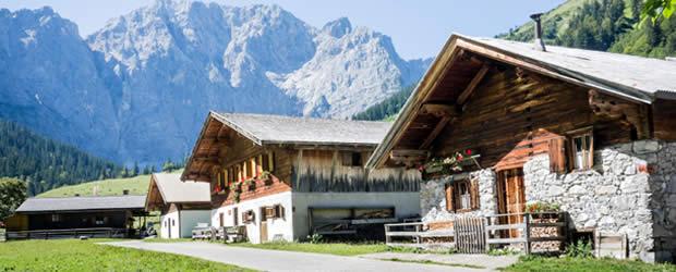Chalets en apaprtementen voor zomer en winter: Europa Sportregion
