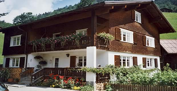 Appartementen Schoppenau Bregenzerwald