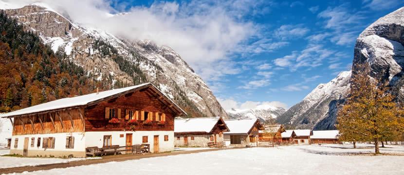 Wintersport chalets en vakantiehuizen