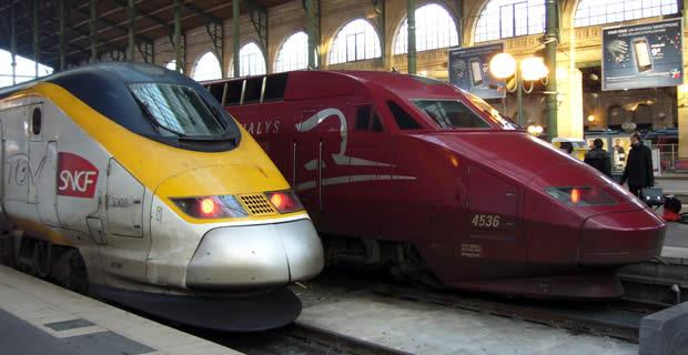 Thalys en TGV naar Frankrijk