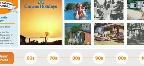 Canvas Holidays 50 jaar