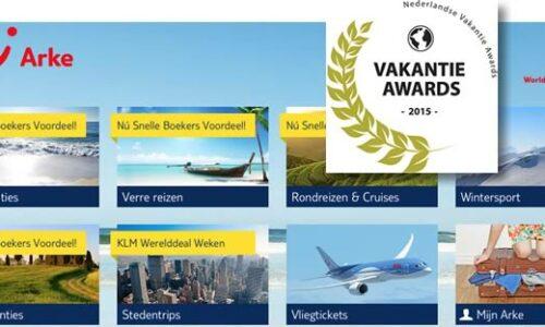 Arke beste reisaanbieder Vakantie Award 2015