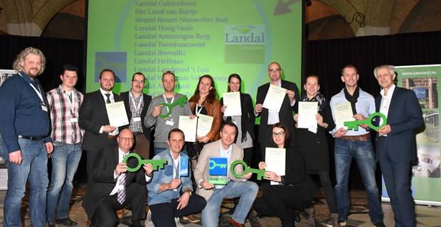 Landal wil naar 40 Green Key parken in 2015