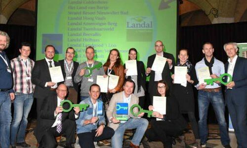 Green Key Certificaten voor Landal GreenParks