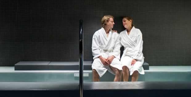 Wellness, sauna, turks stoombad