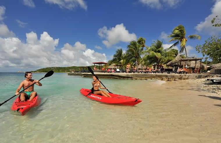 chogogo dive & beach resort Curaçao genieten!