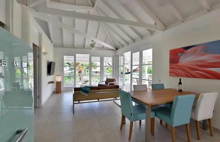 Interieur chogogo dive & beach resort Curaçao