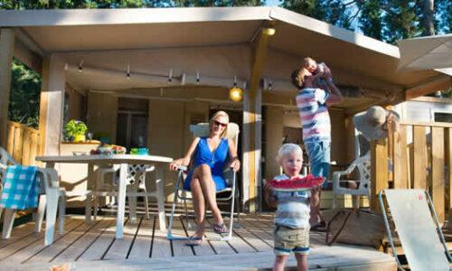 Kampeertrend: Glamping op luxe campings