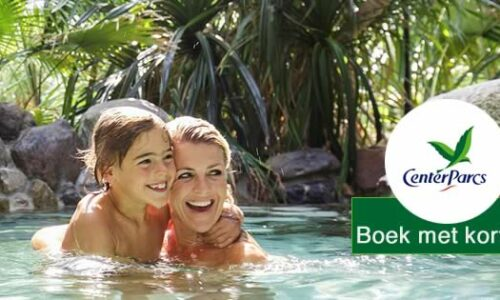 Korting Center Parcs tot 36% + gratis extra's