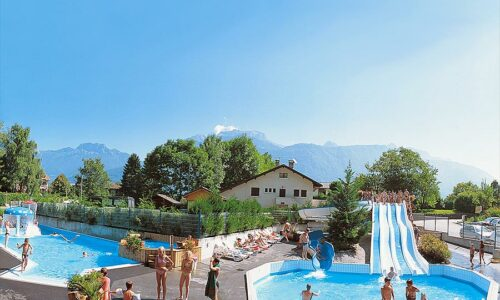 Aanbiedingen camping Camping Les Fontaines in Lathuile