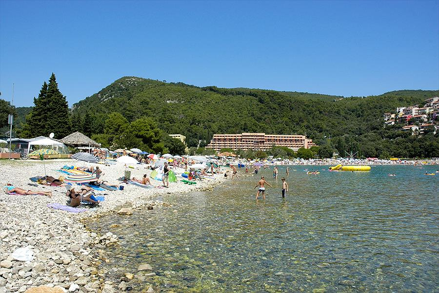 camping in Rabac