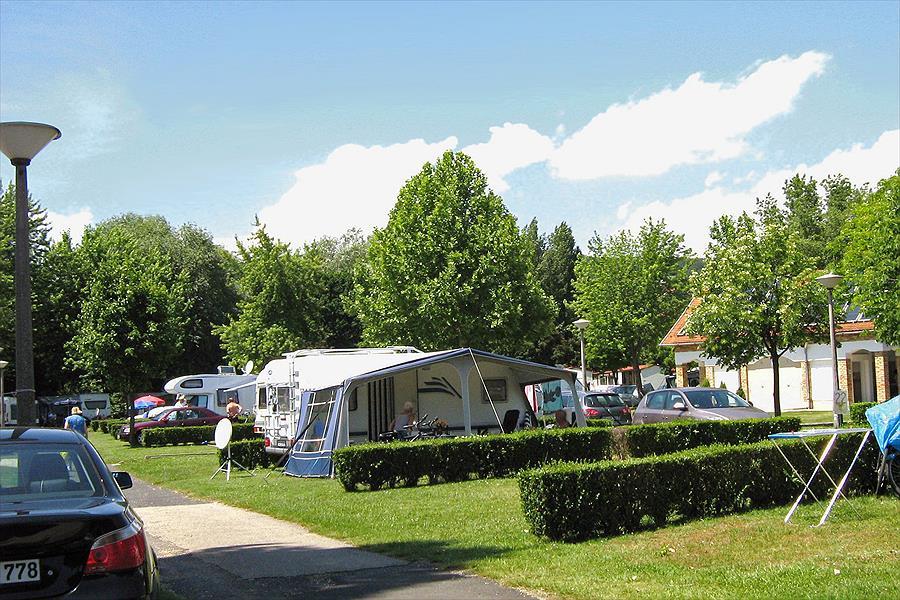camping in Révfülöp