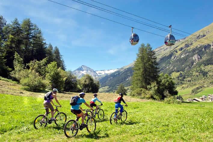 Fietsen en mountainbiken in Savoie Mont Blanc
