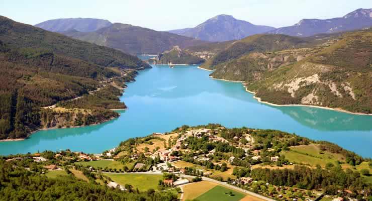 Villa's du Verdon lac de Castillon