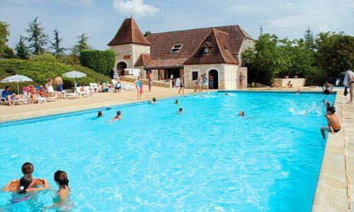 Aanbiedingen camping Camping Castels Domaine de la Paille Basse in Souillac