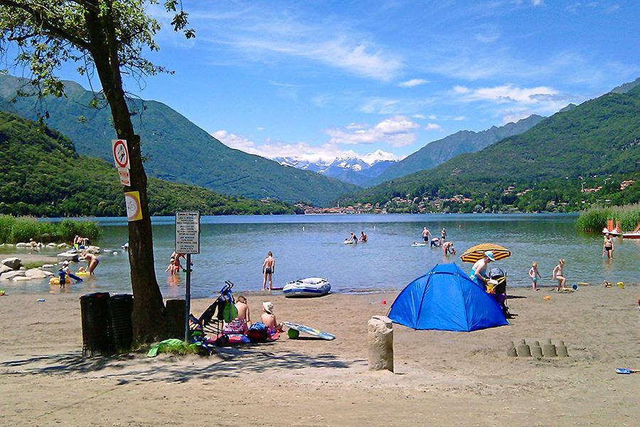 camping in Fondotoce