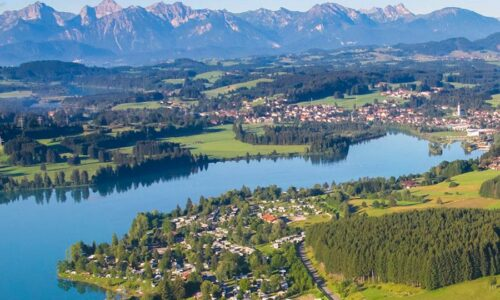 Aanbiedingen camping Via Claudia Camping in Lechbruck