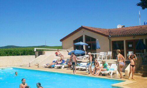 Aanbiedingen camping Camping Les Vignes in Puy-l'Évêque
