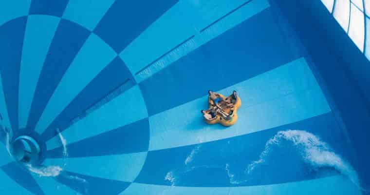 Grootste indoor waterglijbaan ter wereld