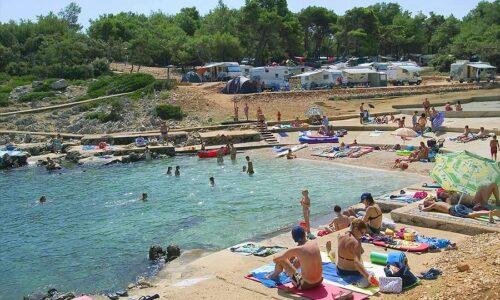 Aanbiedingen camping Camping Poljana in Mali Lošinj