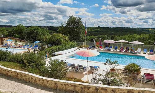 Vakantiepark Villages des Cigales, Lot, Frankrijk