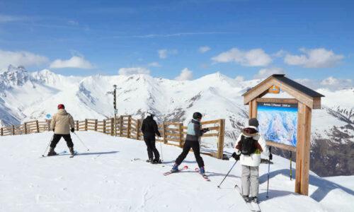 Wintersport met skipas Frankrijk