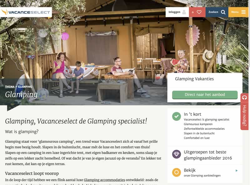 Stoere Bohemien Bungalow : De bohemian lodge van vacanselect is glamping in duurzame vintage stijl!