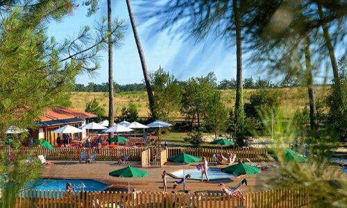 Aanbiedingen camping Camping Huttopia Landes Sud in Saint-Michel-Escalus