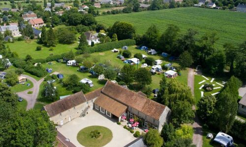 Aanbiedingen camping Camping Château de Martragny in Martragny