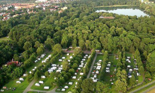 Aanbiedingen camping Camping Knaus Campingpark Leipzig Auensee in Leipzig