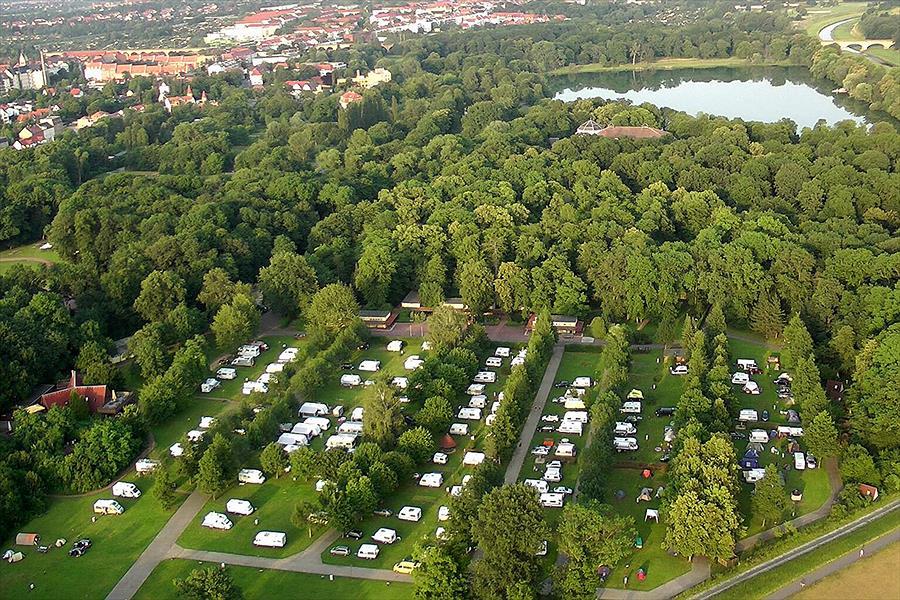 Camping Knaus Campingpark Leipzig Auensee Leipzig