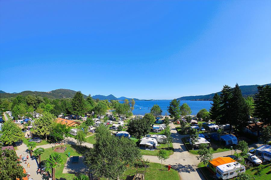 camping in Feriolo