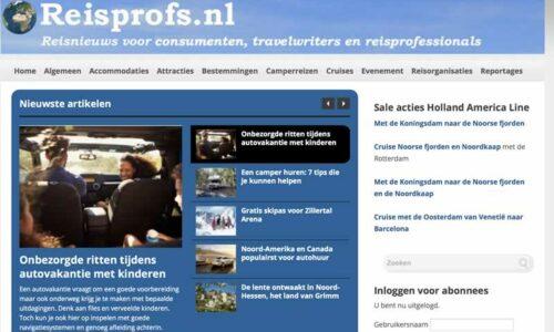 Reisprofs.nl voor tips en het laatste nieuws uit de reiswereld