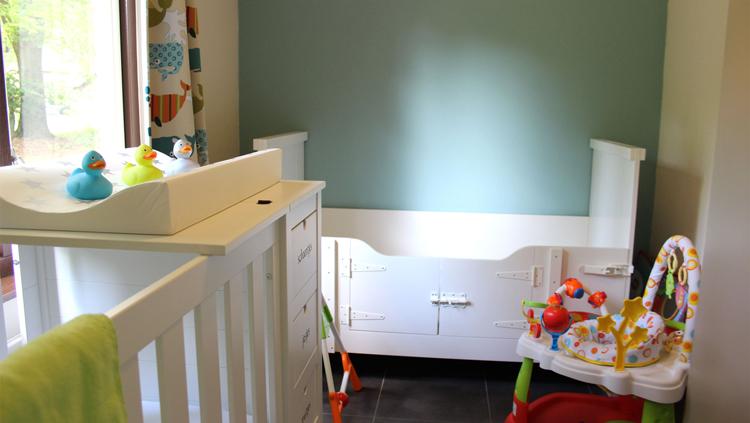 vakantiehuisje met baby