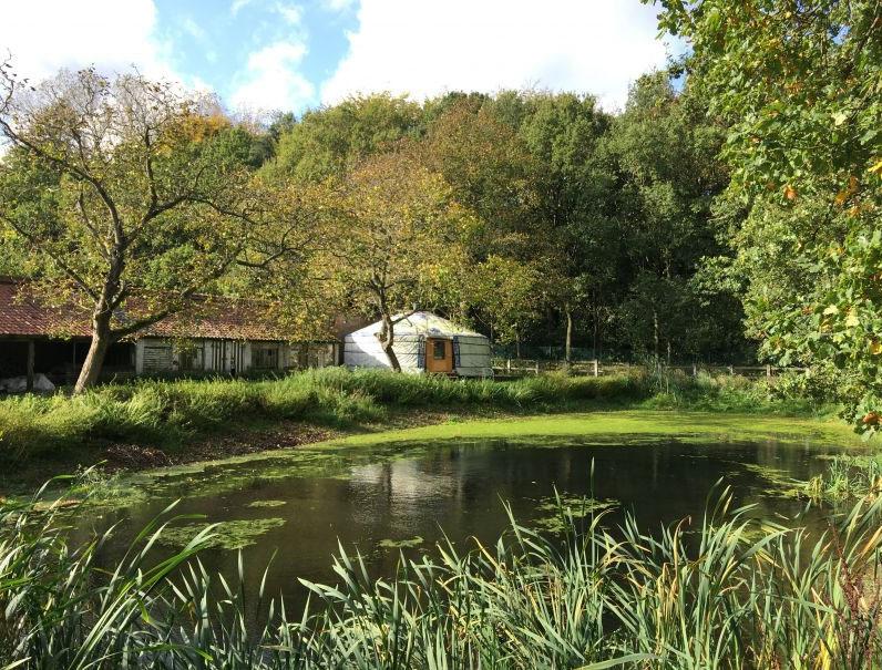 Aparte ervaring, slapen in een yurt tijdens een vakantie of weekendje weg!